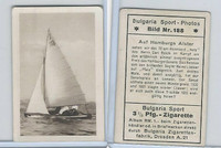 B156-5 Bulgaria Sport Photos, 1932, #188 Sailing