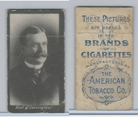 T426 American Tobacco Company, Celebrities, 1910, Earl Of Carrington