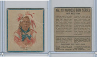 V254 Canadian CG, Papoose Gum Indians, 1934, #19 Iron Bull, Crow