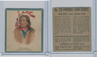 V254 Canadian CG, Papoose Gum Indians, 1934, #20 Mad Bear, Sioux