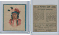 V254 Canadian CG, Papoose Gum Indians, 1934, #29 Red Thunder, Sioux