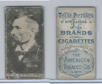 T426 American Tobacco Company, Celebrities, 1910, The Hon. Wm. Fredrick Holder