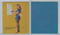 W424 Mutoscope Blotter Cut Pin Up Girls, 1940's, Everything Seems