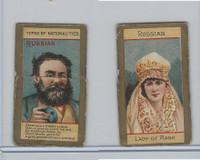 N240 Kinney, Types of Nationalities, 1890, Russian (3rd Tabs)