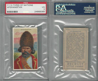 T113 Recruit, Types of Nations, 1910, Afghanistan, PSA 3 VG