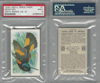 J9-5, Church & Dwight, Useful Birds 9th Ser., 1925, #1 Redstart, PSA 9 Mint