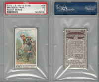 V39  J.S. Fry, Scout Series, 1912, #18 Making A Trail, PSA 3 VG