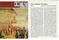 1979 Panarizon, Story Of America, #01.01 Louisiana Purchase