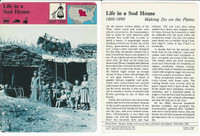 1979 Panarizon, Story Of America, #01.04 Life In Sod House, Wild West