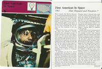 1979 Panarizon, Story Of America, #01.06 First American Space, Alan Shepard