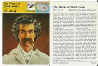 1979 Panarizon, Story Of America, #01.07 Works Of Mark Twain