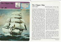 1979 Panarizon, Story Of America, #01.09 Clipper Ship
