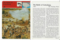 1979 Panarizon, Story Of America, #01.11 Battle Gettysburg, Civil War
