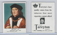 T47 American Tobacco Co., British Sovereigns, 1939, 19. Henry VII - 1485-1509