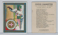 T51 Murad Cigarettes, College, 1909, Antioch, Baseball