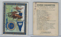 T51 Murad Cigarettes, College, 1909, Berea, Kentucky, Polo