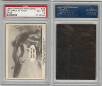 1965 Donruss, King Kong, #23 Get Back In Your Cage, PSA 6 EXMT