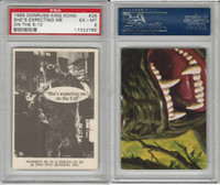 1965 Donruss, King Kong, #28 She's Expecting Me On, PSA 6 EXMT