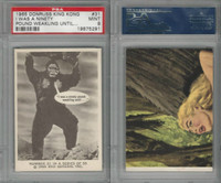 1965 Donruss, King Kong, #31 I Was A Ninety Pound Weakling, PSA 9 Mint