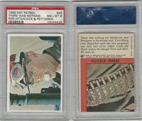 1966 Topps, Rat Patrol, #48 There Was Nothing For Hitchcock, PSA 8 NMMT