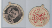 F5-3 Dixie Cup, 1937, Movie Stars Large Lid, Clark Gable
