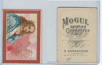 T112 Mogul Cigarettes, Toast Series, 1909, Dust Makes Thirst