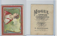 T112 Mogul Cigarettes, Toast Series, 1909, Every Kiss We Take