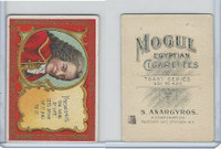 T112 Mogul Cigarettes, Toast Series, 1909, Friendships The Wine Of Life