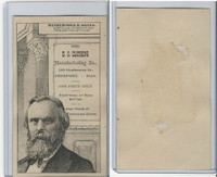 H602 US Clothing, Presidents, 1890's, Rutherford B. Hayes