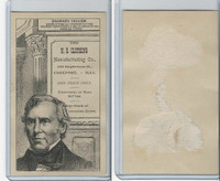 H602 US Clothing, Presidents, 1890's, Zachary Taylor