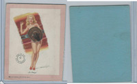 W424 Mutoscope Blotter Cut Pin Up Girls, 1940's, Hi Amigo
