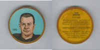 1963 Nalley's Coins Football, Humpty Dumpty Chips, #150 Tom Brown