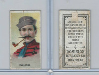 C181 Dominion Tobacco, Smokers Of World, 1910, Hungarian