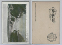 E Card, Zeno Gum, United States Views, 1910, Niagara River, New York