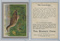 H695 Van Houtens Cocoa, Birds, 1900, The Corn Crake