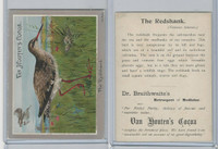 H695 Van Houtens Cocoa, Birds, 1900, The Redshank