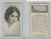 H46-66 Hill, Who's Who In British Films, 1927, #37 Lilian Oldland