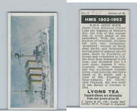 L0-0 Lyons Tea, Warships HMS 1902-1962, 1965, #3 HMS Good Hope