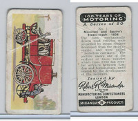 M0-0 Miranda, 100 Years Of Motoring, 1955, #1 Maceroni & Squire