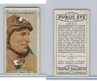 P50-112 Phillips, In The Public Eye, 1935, #33 Charles Kinsford-Smith, Aviator