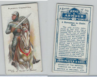 P72-15 Player, Arms & Armour, 1909, #12 Horseman In Chain-Mail
