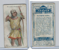 P72-15 Player, Arms & Armour, 1909, #23 An English Archer
