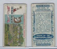 P72-30 Player, Country Seats & Arms, 1909, #141 Earl of Londesborough