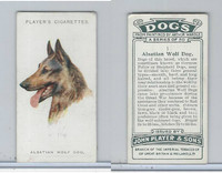 P72-90 Player Tobacco, Dogs, 1929, #1 Alastian Wolf Dog