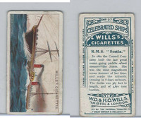 W62-74 Wills, Celebrated Ships, 1911, #27 RMS Scotia
