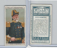 W62-91 Wills, Naval Dress & Badges, 1909, #6 Vice Admiral
