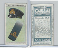 W62-91 Wills, Naval Dress & Badges, 1909, #21 Lieutenant R.N.R.