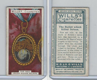 W62-92 Wills, Nelson Series, 1905, #43 Bullet Which Killed Nelson