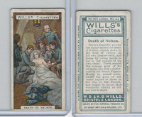 W62-92 Wills, Nelson Series, 1905, #44 Death Of Nelson