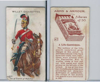 W62-213 Wills, Arms & Armour, 1910, #47 Life Guardsman